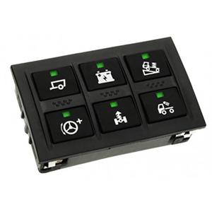 APEM Rubber Keypad