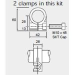 Penny & Giles SA59661 SLS320 Body Clamp Mounting Kit