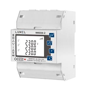 Lumel NMID30-2 DIN-rail Energy Counter