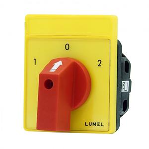 Lumel PKH, PKS, PKT Series Cam Switches
